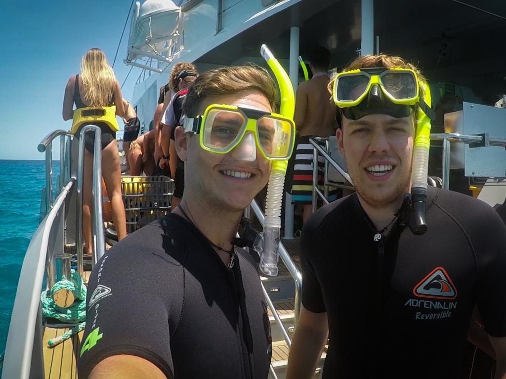 Snorkelling-Boat-Selfie