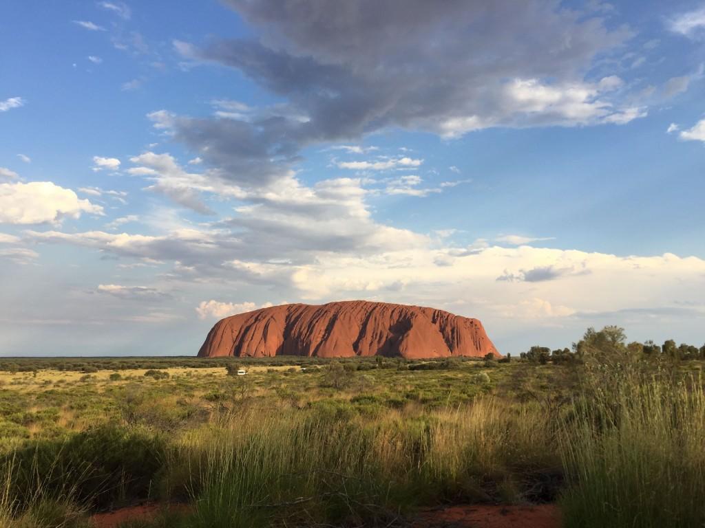 Uluru Front View